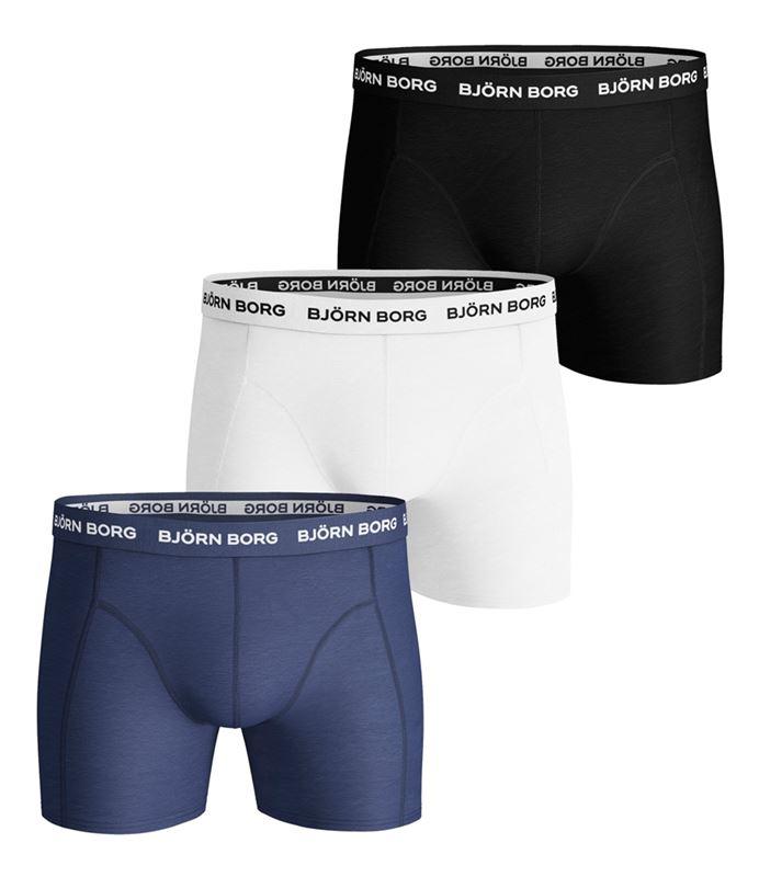 Underkläder - Shorts 3-pack enfärgad