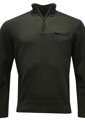 Tröja - 1750 Forest green pull over