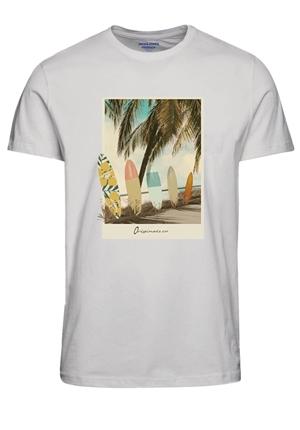 T-shirt - JORFASTER TEE SS CREW NECK