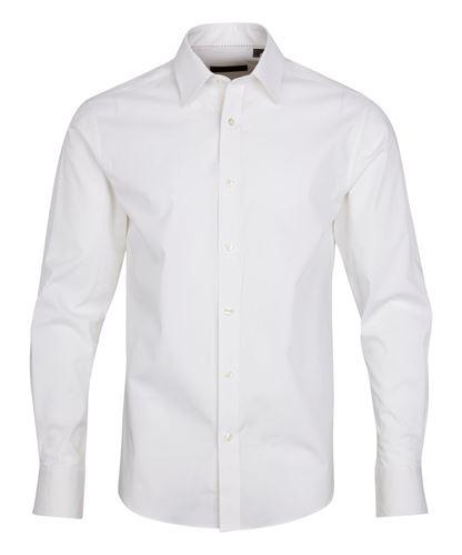 Skjorta - Men´s stretch shirt white