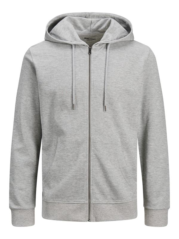 Tröja - JJEBASIC SWEAT ZIP HOOD