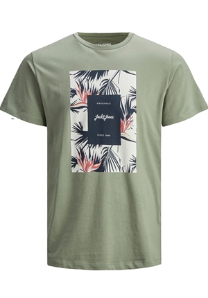 T-shirt - JORFLORALL PRINT TEE
