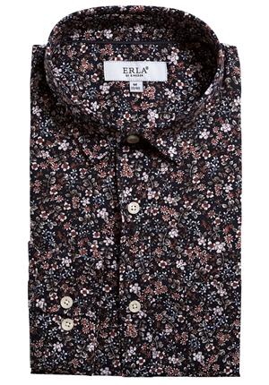 Skjorta - Blommig skjorta