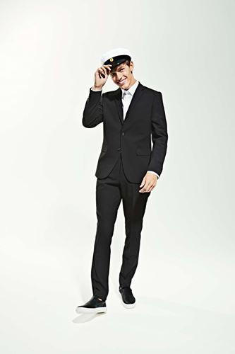 Kostym - Plain mens suit