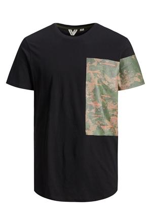 T-shirt - JCOCURVED YAS TEE