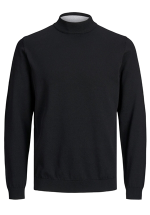 Tröja - JPRBLACAMP KNIT HIGH NECK